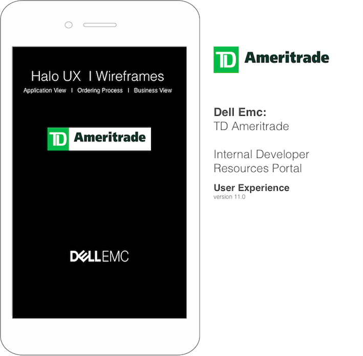 ameritrade wireframe icon