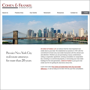 Cohen & Frankel Attorneys icon