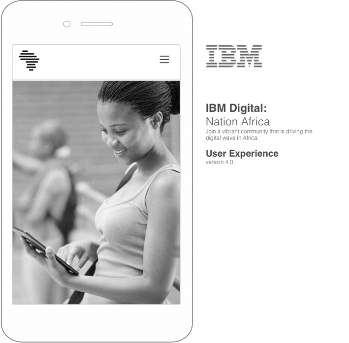 IBM Nation Africa Wireframe icon