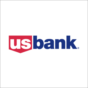 US bank wireframe icon