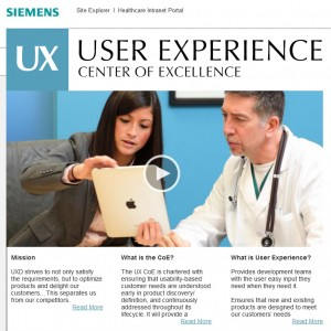 Siemens UX website icon