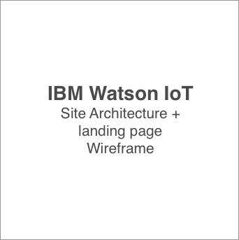 IBM watson wireframe icon
